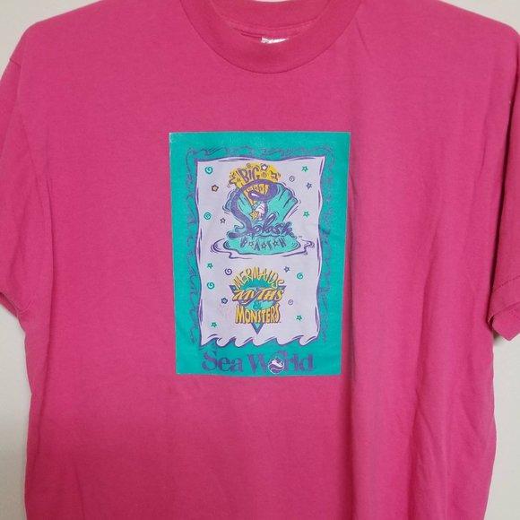 Fruit of the loom tees-short sleeves pink XL